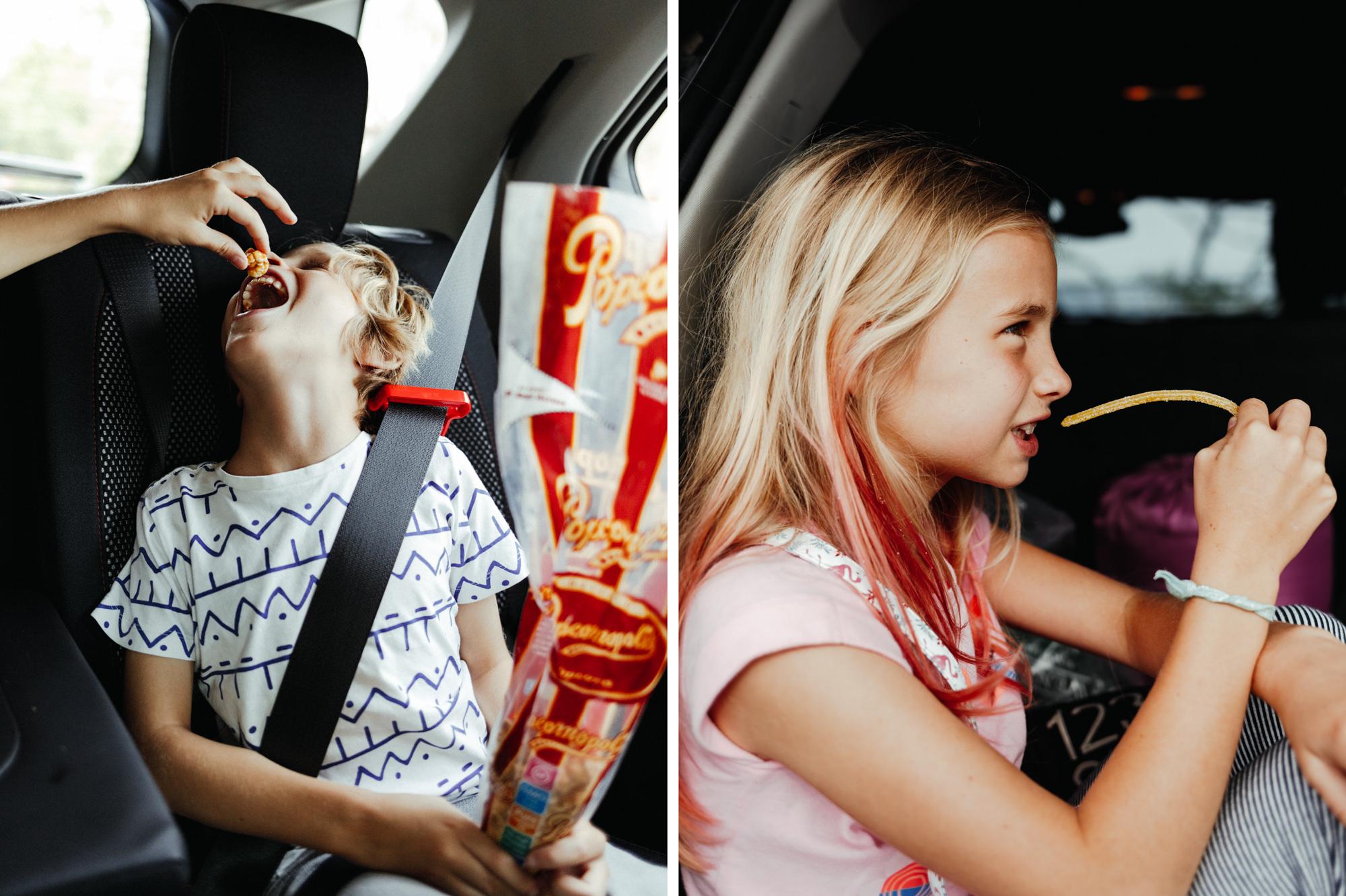Roadtrip with kids through California