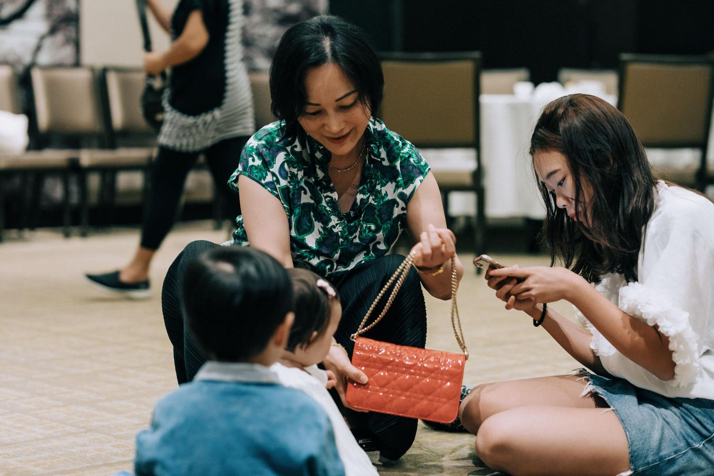 a Korean first birthday party in Hong Kong