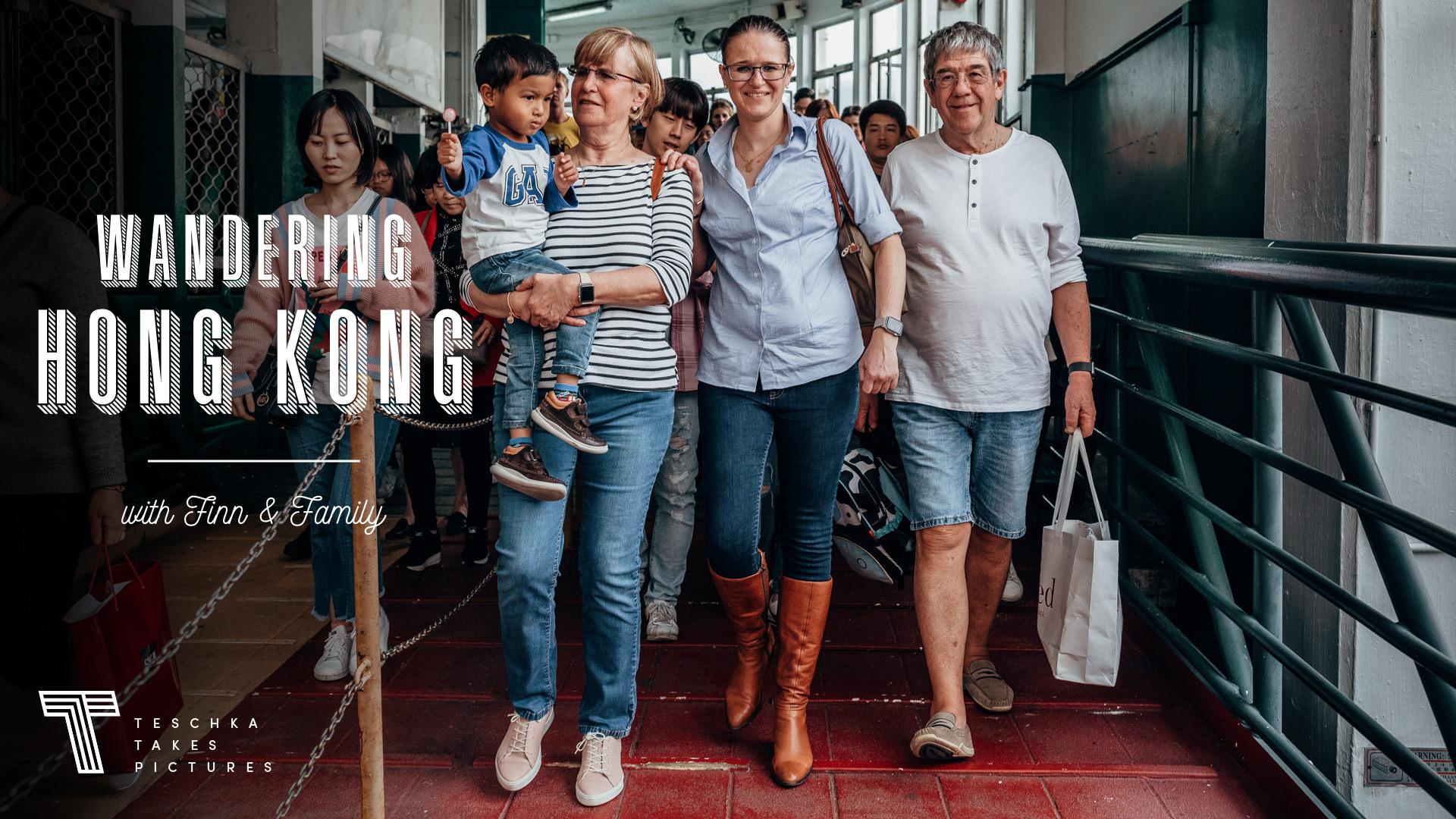 wandering hong kong - an urban shoot in central